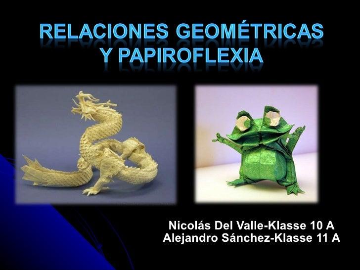 Nicolás Del Valle-Klasse 10 A Alejandro Sánchez-Klasse 11 A