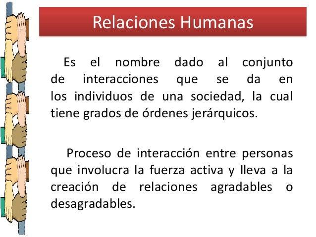 Relaciones Humanas Slide 2