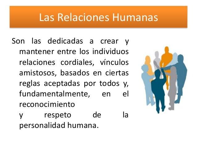 Relaciones Humanas Slide 3