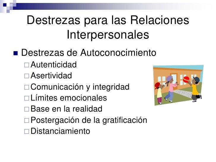relaciones interpersonales Analizamos cómo se llevan a cabo las relaciones interpersonales entre alumnos   estudiantes la capacidad de establecer relaciones interpersonales positivas.