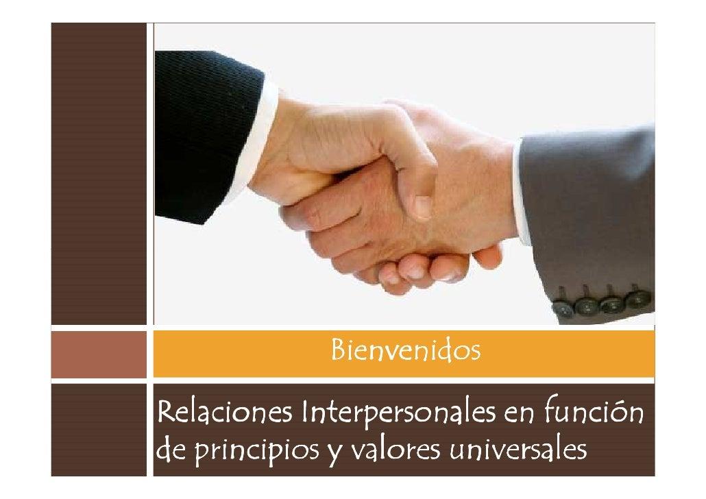 Relaciones interpersonales 1 07-2010. [modo de compatibilidad]