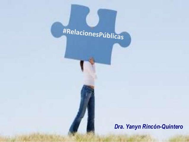 Dra. Yanyn Rincón-Quintero