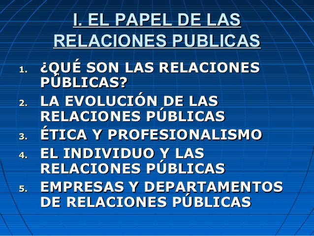 Relaciones publicas Slide 2