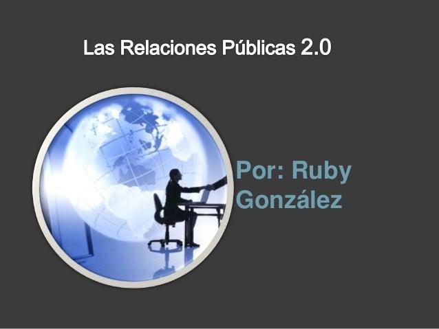 Por: Ruby González
