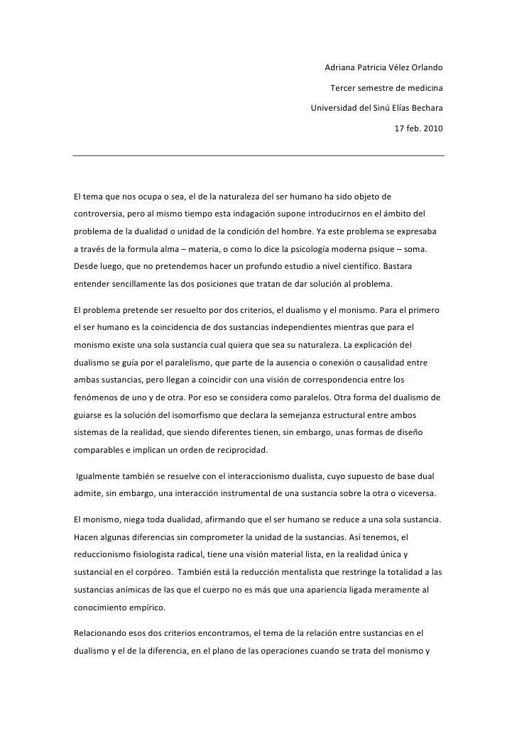 Adriana Patricia Vélez Orlando <br />Tercer semestre de medicina  <br />Universidad del Sinú Elías Bechara<br />17 feb. 20...
