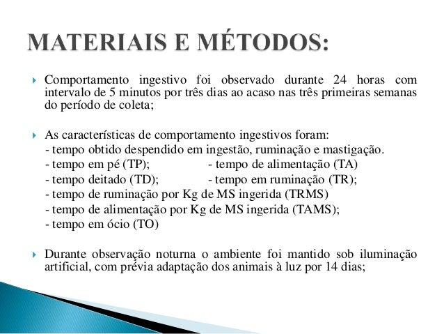 Comportamento ingestivo de ovinos alimentados com palma forrageira associados a diferentes fontes de fibra 8