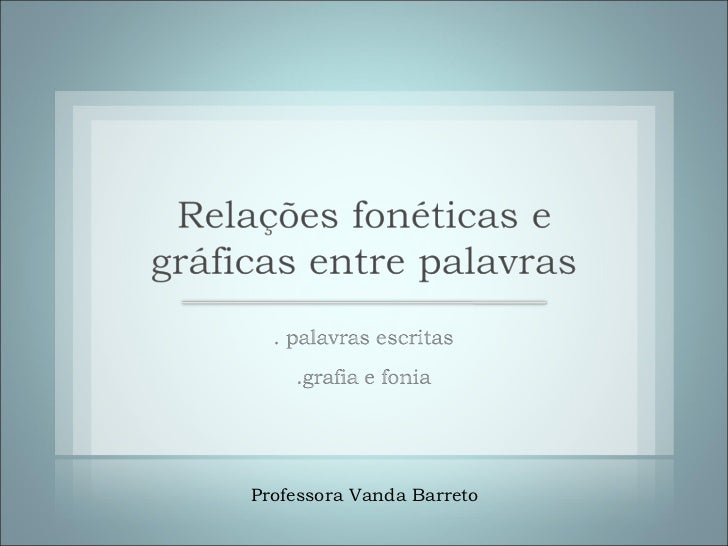Professora Vanda Barreto