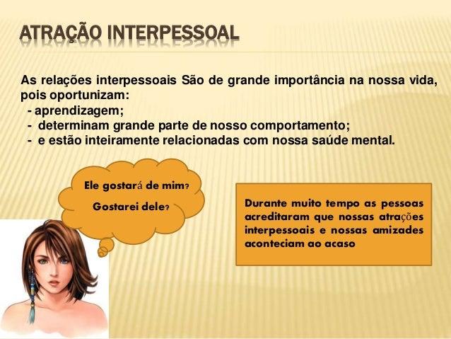 Relações interpessoais Slide 3
