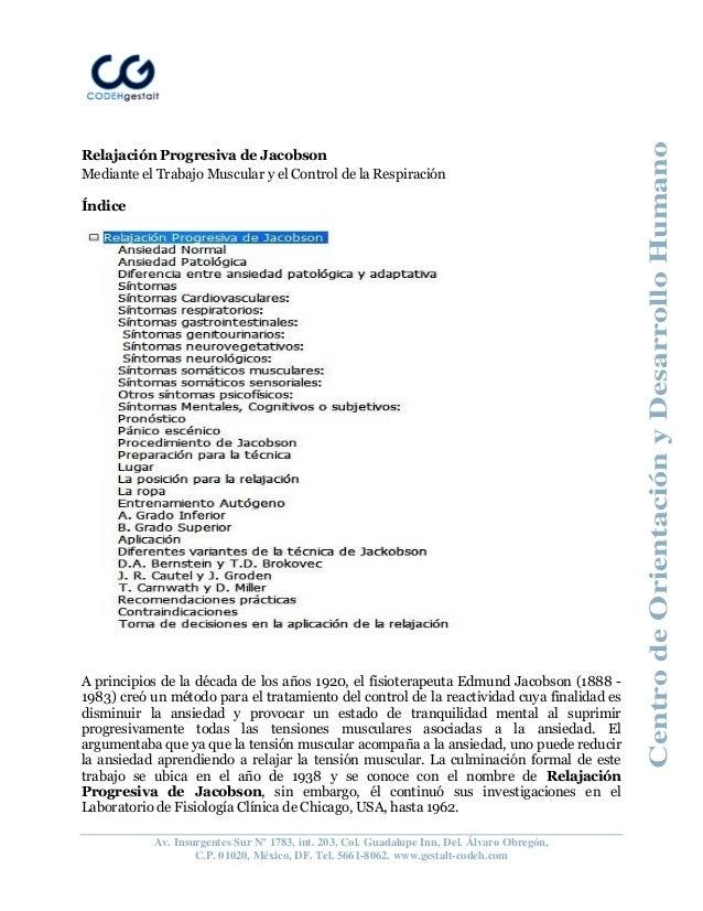 CentrodeOrientaciónyDesarrolloHumano Av. Insurgentes Sur Nº 1783, int. 203, Col. Guadalupe Inn, Del. Álvaro Obregón, C.P. ...