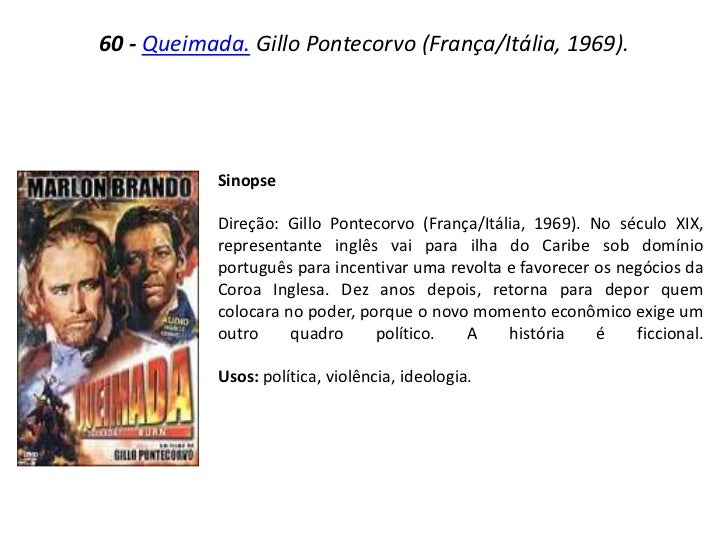 QUEIMADA BAIXAR FILME 1969