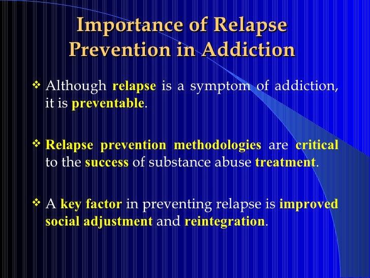 Relapse prevention gambling captain jack gambling machine