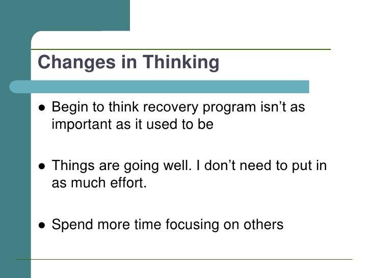 Relapse Prevention March 2011 – Relapse Prevention Worksheet