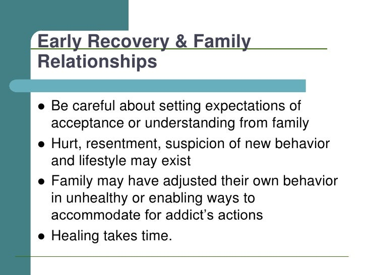 Dating after Addiction