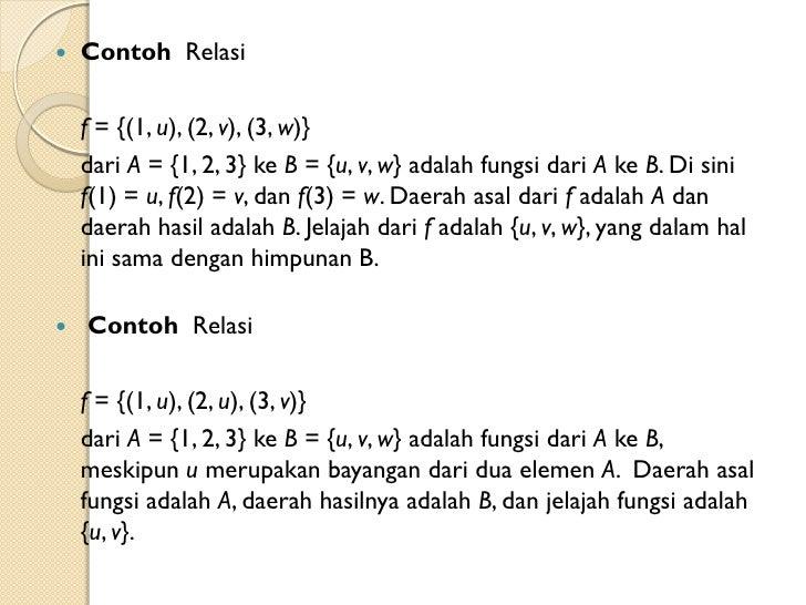 Contoh Himpunan Matematika Diskrit Gontoh