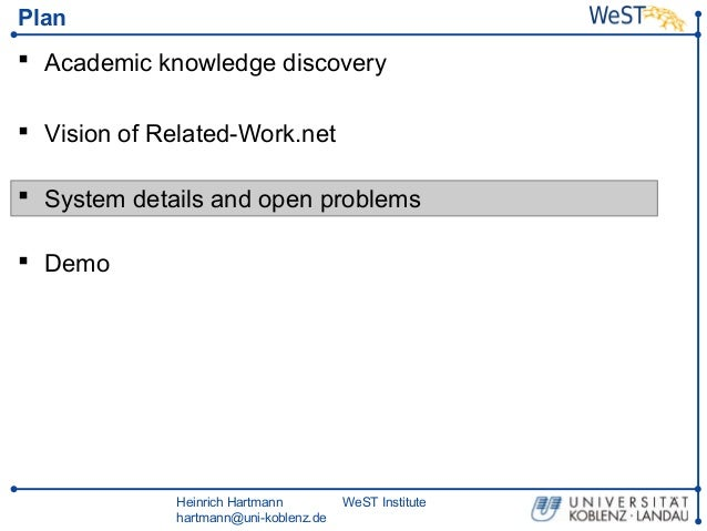 Related Work Net At West Oberseminar