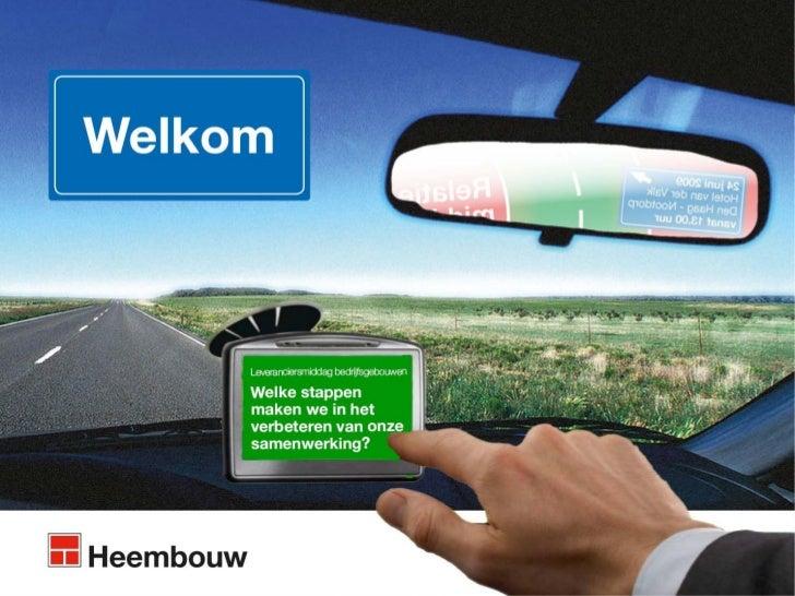 Programma13.00 Ondernemingsplan/klantgroepen   Maarten Bakker13.15 Terug- en vooruitblik           John Overdevest13.30 Ke...