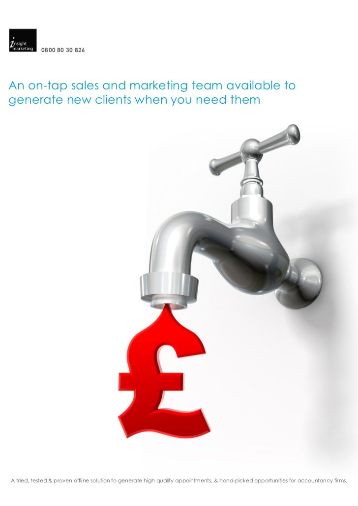0800 80 30 826An on-tap sales and marketing team available togenerate new clients when you need themA tried, tested & prov...