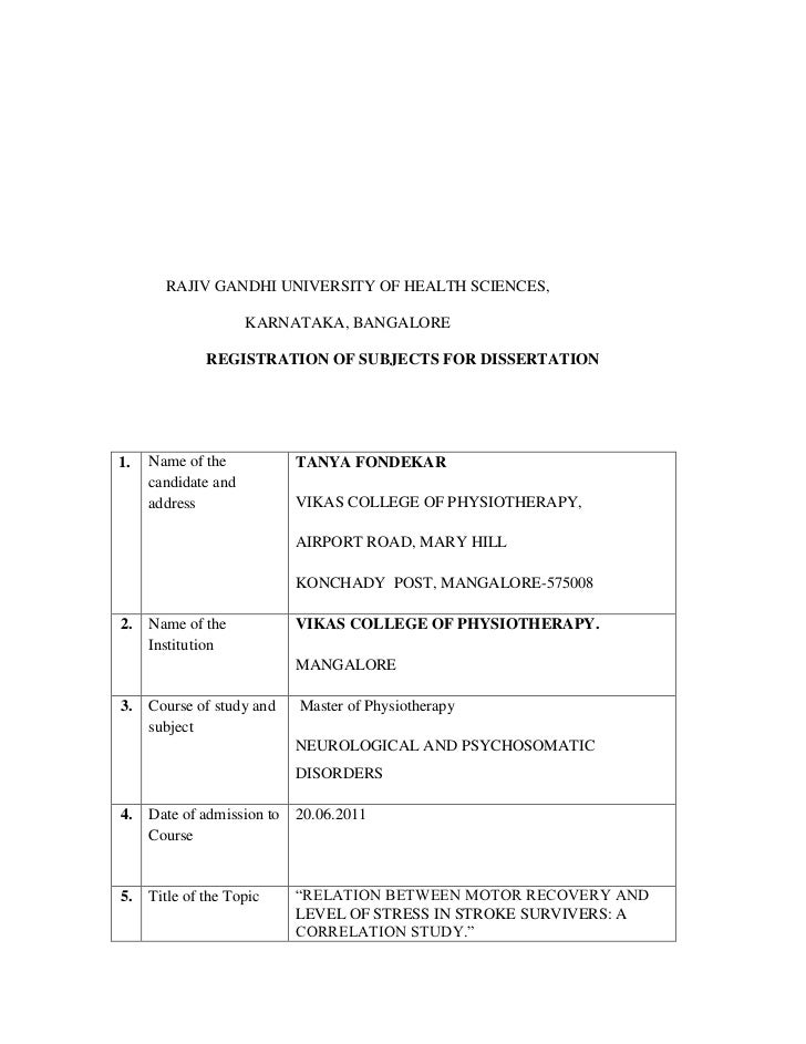 rajiv gandhi university of health sciences dissertation Network (helinet) at rajiv gandhi university of health sciences, bangalore, and karnataka database of pg dissertations, 6500 digitized ug & pg courses, previous years examination question papers electronic theses and dissertations (etds) are theses or dissertations prepared as text- based pdf files.