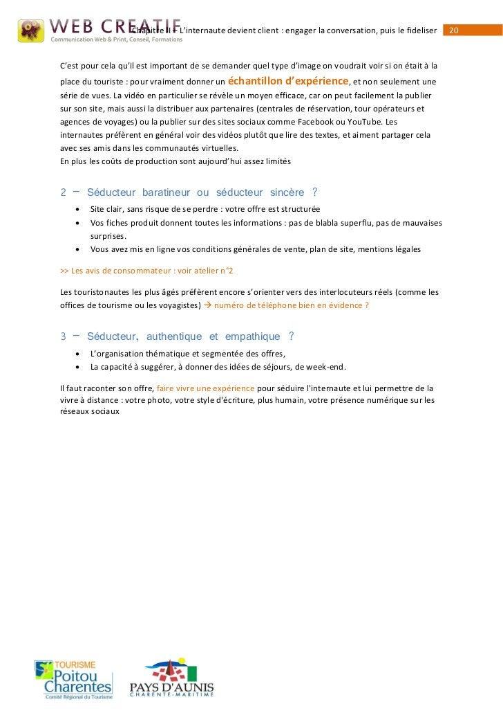 Chapitre II – Linternaute devient client : engager la conversation, puis le fideliser   20C'est pour cela qu'il est import...