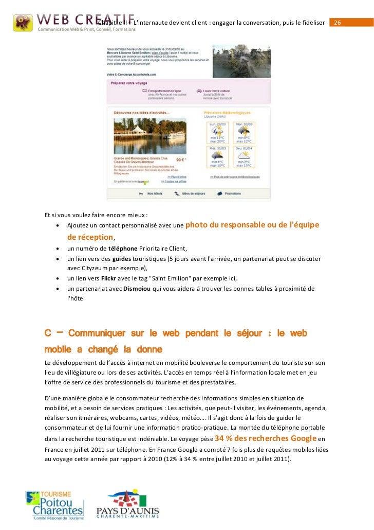 Chapitre II – Linternaute devient client : engager la conversation, puis le fideliser   26Et si vous voulez faire encore m...