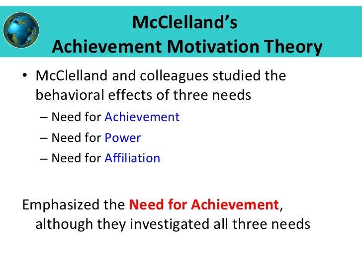 atkinson s achievement motivation theory and its