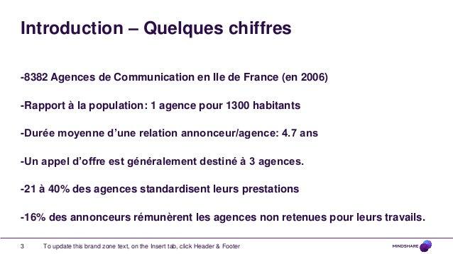 L'impact des agences de communication dans la stratégie de communication annonceurs Slide 3