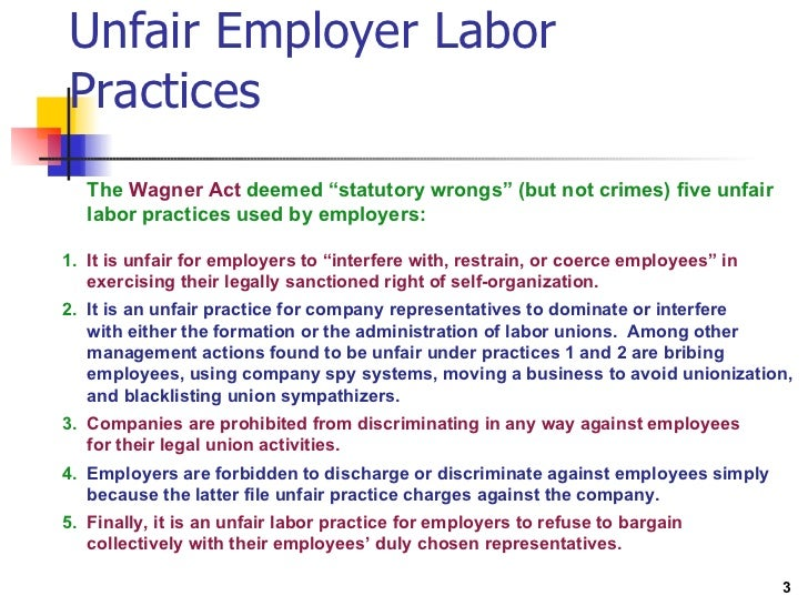29 U.S. Code § 158 - Unfair labor practices