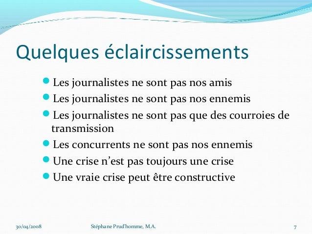Quelques éclaircissements             Les journalistes ne sont pas nos amis             Les journalistes ne sont pas nos...