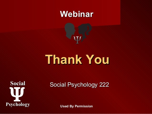 social psychology in dating