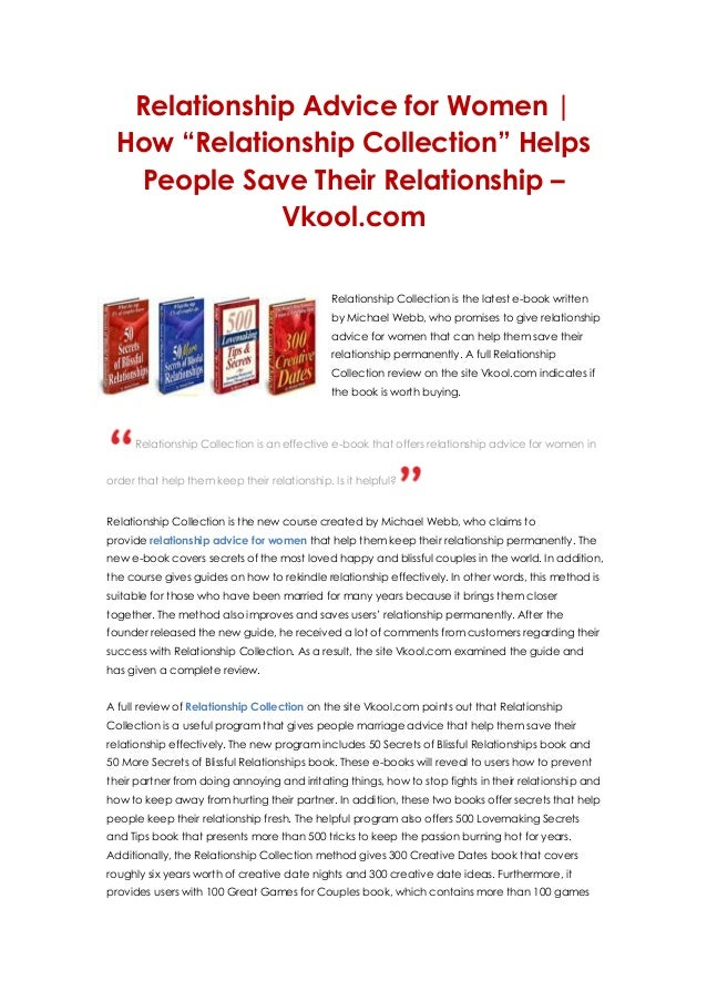 Blogs about relationships dating advice