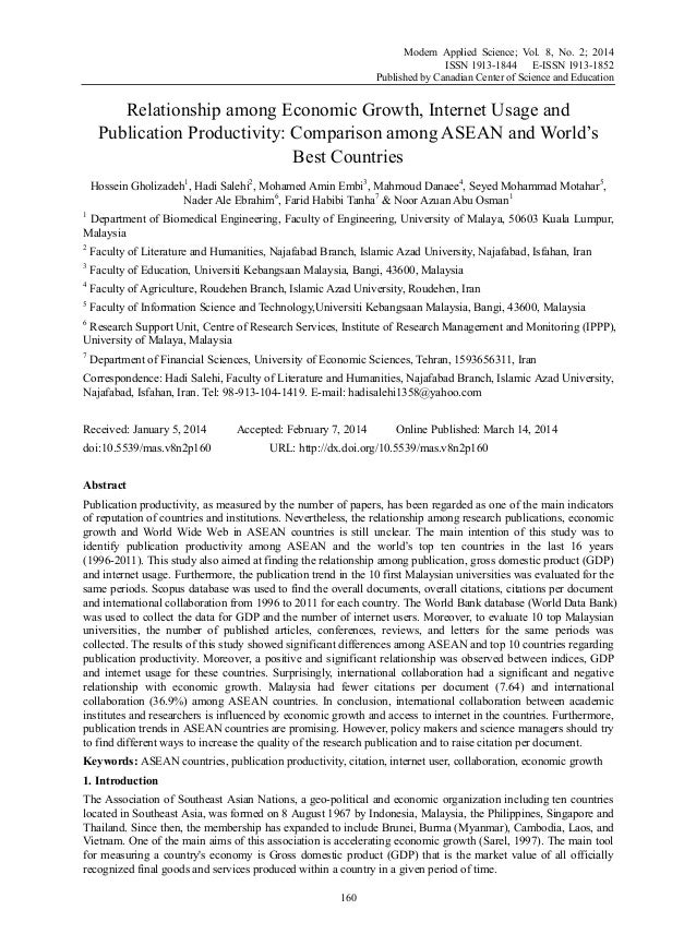 Modern Applied Science; Vol. 8, No. 2; 2014 ISSN 1913-1844 E-ISSN 1913-1852 Published by Canadian Center of Science and Ed...