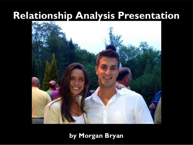 Relationship Analysis Presentation  by Morgan Bryan