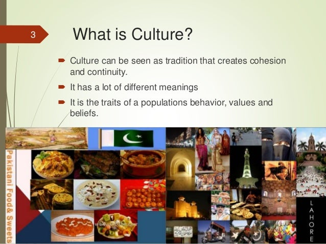 what is the relationship between culture Culture can be seen as tradition that creates cohesion and continuity it has a lot  of different meanings and has had throughout history it is the traits of a.