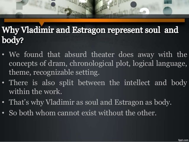relationship of estragon and vladimir in waiting for godot script