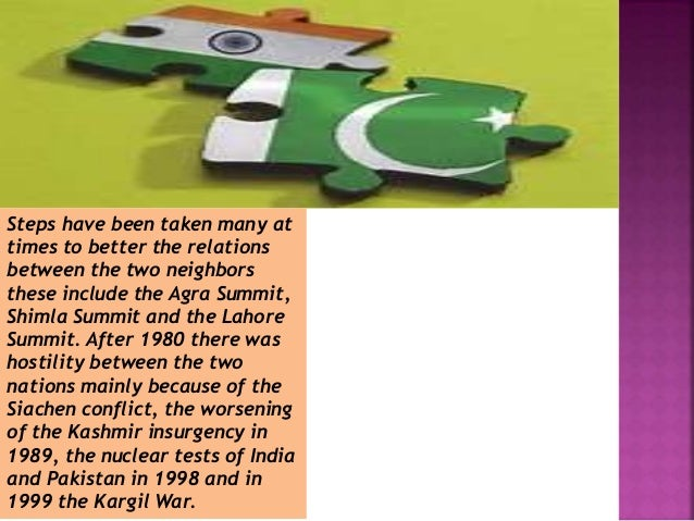 the india pakistan relationship India is much bigger and richer country than pakistan but it did not develop indian lobby in pakistan you see usa has good lobby in pakistan because they give jobs and facilities to many pakistanis same is the case of saudi arabia lobby in pakistan.