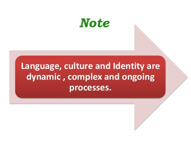 the relation between identity and language essay