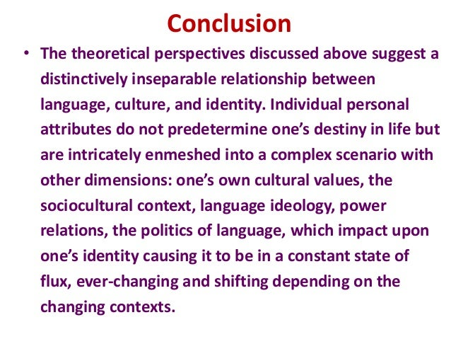 relationship between language culture and ideology
