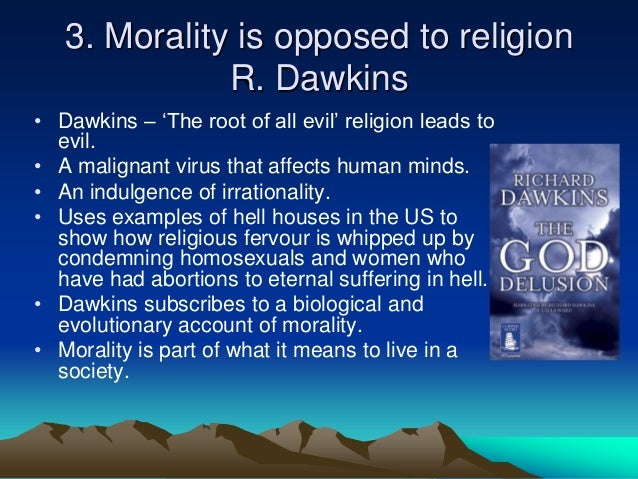 relationship between society and morality