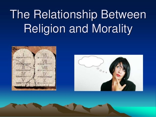 relationship between law morality and religion