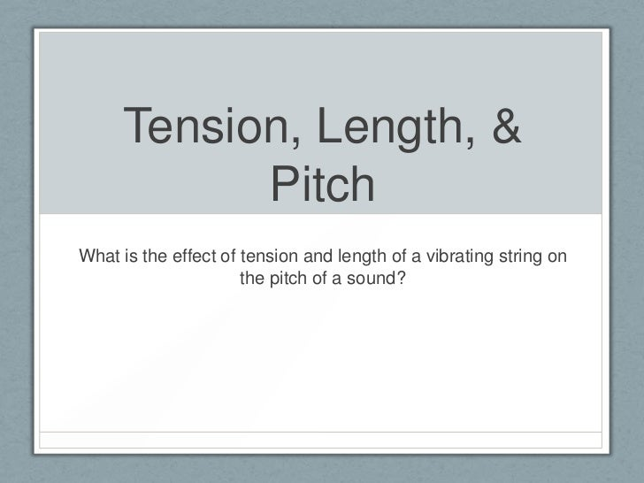 what is the relationship between period and pitch