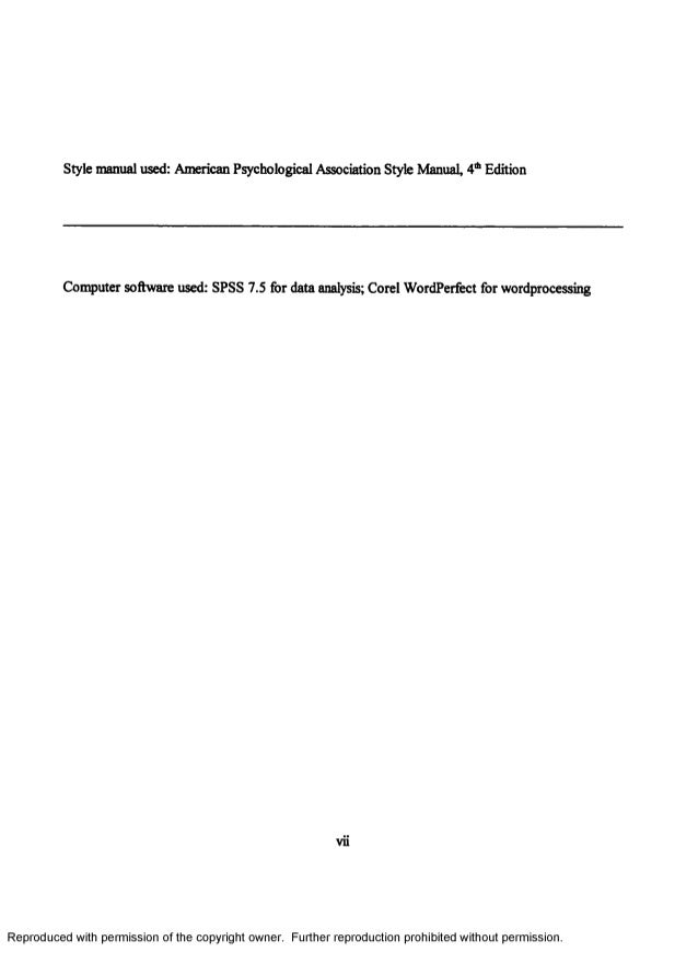 relationship between personality and achievement in Relationship between personality traits, academic achievement and salary: an  empirical study in a reputed b-school in bangalore, india.