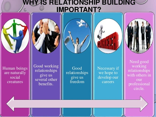 give and take business relationship building