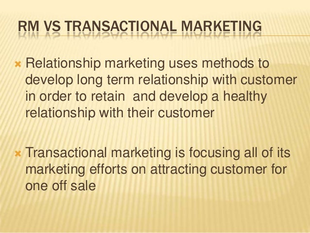 the relationship marketing What is relationship marketing for most marketers this term is probably familiar from it's commencement, a relationship marketing emphasis meant brands were recognizing the need to move beyond a series of transactional campaigns.