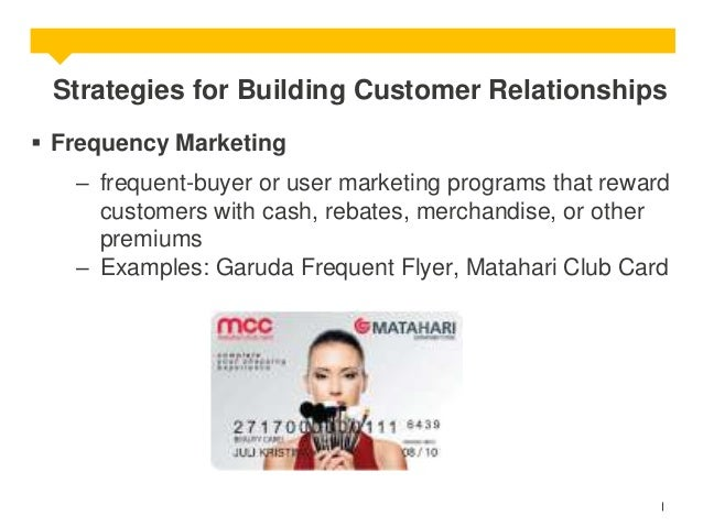 frequency marketing program