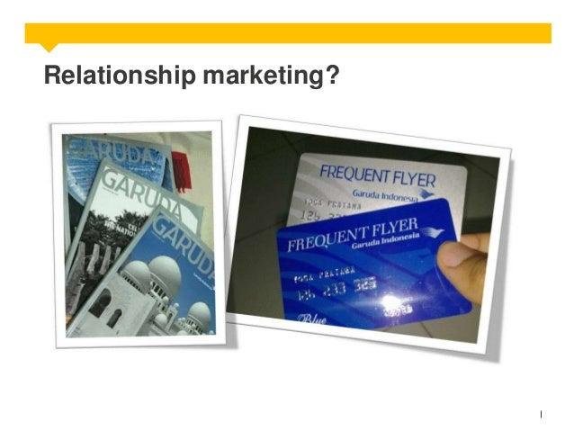 Relationship marketing?