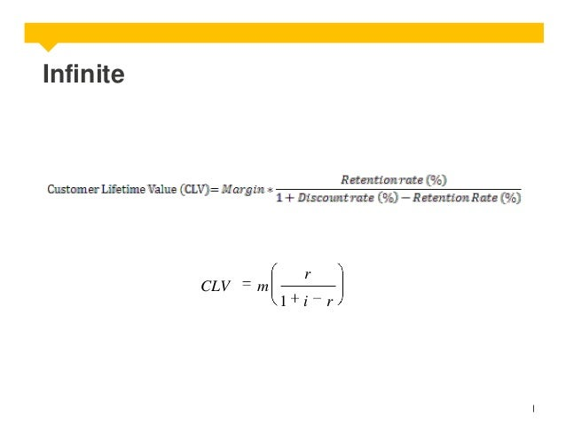 Infinite  CLV  r  m 1  i  r
