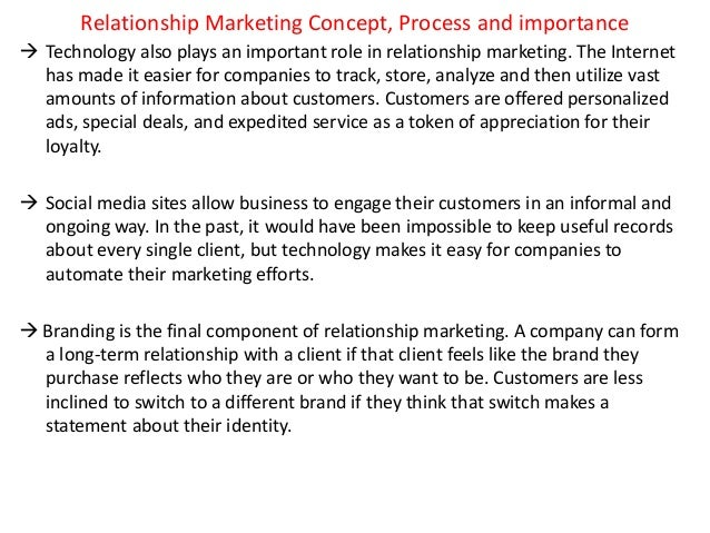 what is relationship marketing concept