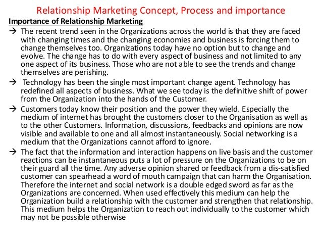 importance of relationship marketing in contemporary business Difference between transactional and relationship marketing and how customer relationship management impacts on the marketing and operations of an organization by afkartunio in types research business & economics, crm, and relationship marketing.