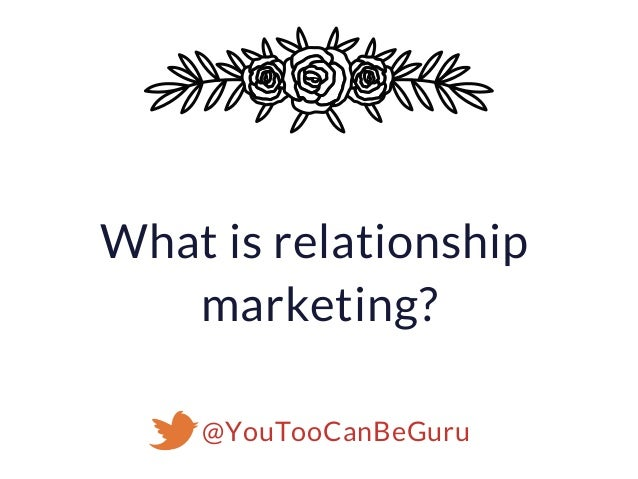 Relationship Marketing on Twitter: Your Clients are Your Community Slide 2