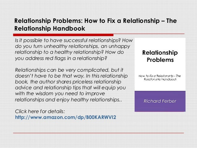 relationship problems and how to fix them